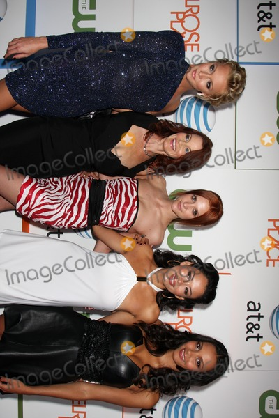 Ashlee Simpson Wentz Photo - Katie Cassidy Laura Leighton Ashlee Simpson-Wentz Stephanie Jacobsen and Jessica Lucas  arriving at  Melrose Place Premiere Party on Melrose Place in  Los Angeles CA on August 22 2009