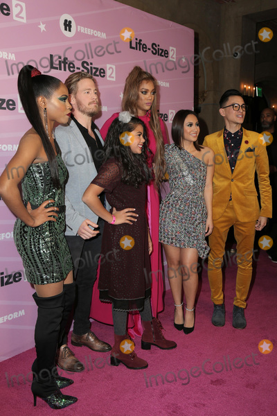 Allison Fernandez Photo - LOS ANGELES - NOV 27  Shanica Knowles Gavin Stenhouse Allison Fernandez Tyra Banks Francia Raisa Hank Chen at the Life Size 2 Premiere Screening at the Roosevelt Hotel on November 27 2018 in Los Angeles CA