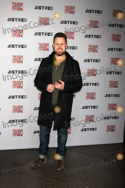 AJ Buckley Photo - LOS ANGELES - JAN 6  AJ Buckley at the Justified Premiere Screening at Directors Guild of America on January 6 2014 in Los Angeles CA