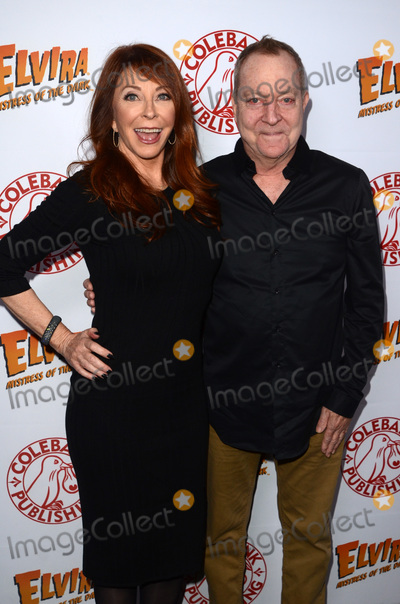 Cassandra Peterson Photo - LOS ANGELES - OCT 17  Cassandra Peterson Fred Schneider at the Elvira Mistress Of The Dark Coffin Table Book Launch at Roosevelt Hotel on October 17 2016 in Los Angeles CA