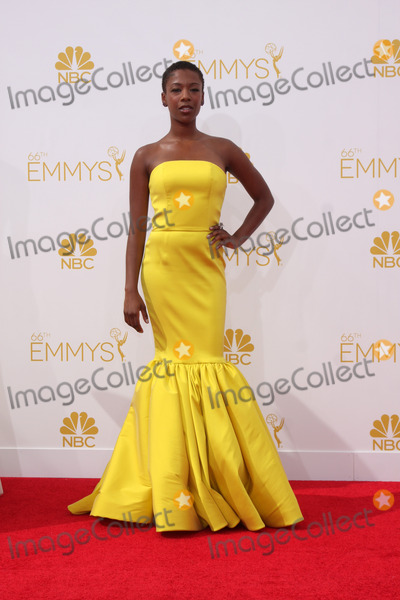 Samira Wiley Photo - LOS ANGELES - AUG 25  Samira Wiley at the 2014 Primetime Emmy Awards - Arrivals at Nokia at LA Live on August 25 2014 in Los Angeles CA