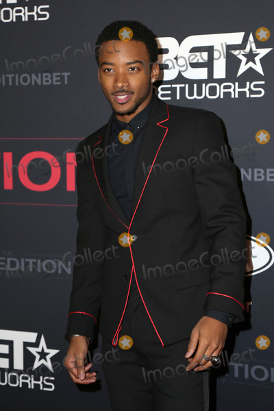 Algee Smith Photo - LOS ANGELES - JAN 23  Algee Smith at the BETs The New Edition Story Premiere Screening at Paramount Studios on January 23 2017 in Los Angeles CA