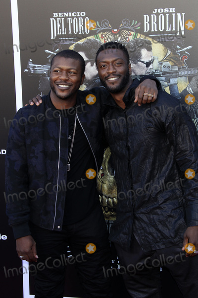Aldis Hodge Photo - LOS ANGELES - JUN 26  Edwin Hodge Aldis Hodge at the Sicario Day Of The Soldado Premiere at the Village Theater on June 26 2018 in Westwood CA