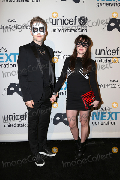 Allyn Rachel Photo - LOS ANGELES - OCT 30  Patrick Carlyle Allyn Rachel at the 2nd Annual UNICEF Masquerade Ball at the Hollywood Forever on October 30 2014 in Los Angeles CA
