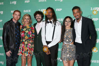 Christine Ko Photo - LOS ANGELES - FEB 27  Andrew Santino Taylor Misiak Dave Burd Gata Christine Ko Travis Bennett at the Dave Premiere Screening from FXX at the DGA Theater on February 27 2020 in Los Angeles CA