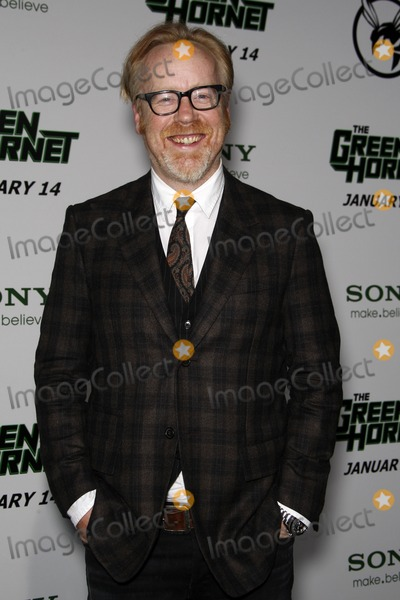 Adam Savage Photo - LOS ANGELES - JAN 10  Adam Savage arrives at the Green Hornet Premiere at Graumans Chinese Theater on January 10 2011 in Los Angeles CA