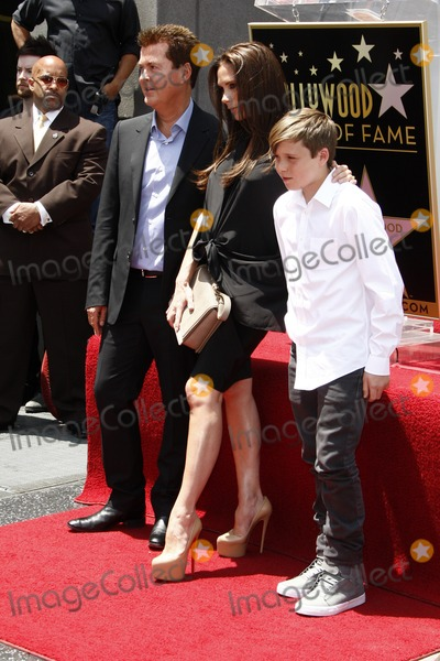 Brooklyn Beckham Photo - LOS ANGELES - MAY 23  Simon Fuller Victoria Beckham Brooklyn Beckham at the Simon Fuller Hollywood Walk Of Fame Star Ceremony at W Hotel - Hollywood on May 23 2011 in Los Angeles CA