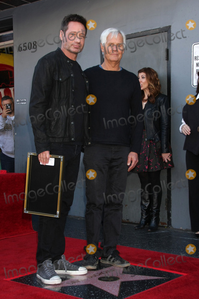 Chris Carter Photo - LOS ANGELES - JAN 25  David Duchovny Chris Carter at the David Duchovny Hollywood Walk of Fame Star Ceremony at the Fox Theater on January 25 2016 in Los Angeles CA