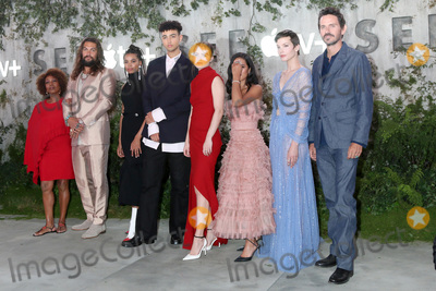 Archie Madekwe Photo - LOS ANGELES - OCT 21  Alfre Woodard Jason Momoa Nesta Cooper Archie Madekwe Hera Hilmar Yadira Guevara-Prip Sylvia Hoeks Christian Camargo at the Apple TVs See Premiere Screening at the Village Theater on October 21 2019 in Westwood CA