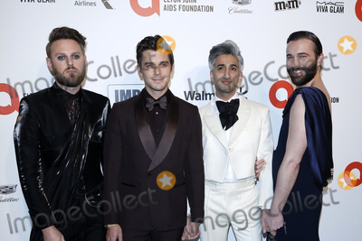 Antoni Porowski Photo - LOS ANGELES - FEB 9  Bobby Berk Antoni Porowski Tan France Jonathan Van Ness at the 28th Elton John Aids Foundation Viewing Party at the West Hollywood Park on February 9 2020 in West Hollywood CA