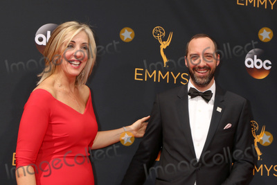 Tony Hale Photo - LOS ANGELES - SEP 18  Martel Thompson Tony Hale at the 2016 Primetime Emmy Awards - Arrivals at the Microsoft Theater on September 18 2016 in Los Angeles CA