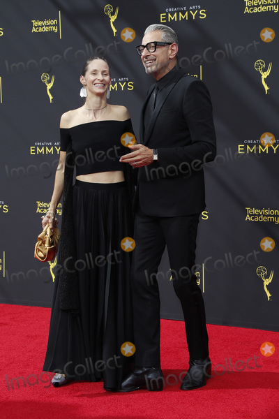 Jeff Goldblum Photo - LOS ANGELES - SEP 14  Emilie Livingston Jeff Goldblum at the 2019 Primetime Emmy Creative Arts Awards at the Microsoft Theater on September 14 2019 in Los Angeles CA