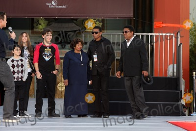 The Jacksons Photo - LOS ANGELES - JAN 26  Blanket Jackson Paris Jackson Prince Jackson Tito Jackson Jackie Jackson Katherine Jackson at the Michael Jackson Immortalized  Handprint and Footprint Ceremony at Graumans Chinese Theater on January 26 2012 in Los Angeles CA