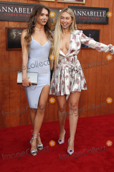 Corinne Olympios Photo - LOS ANGELES - JUN 20  Taylor Olympios Corinne Olympios at the Annabelle Comes Home Premiere at the Village Theater on June 20 2019 in Westwood CA
