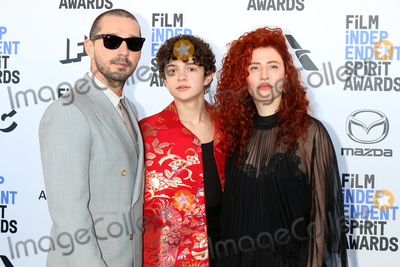 Shia La Beouf Photo - LOS ANGELES - FEB 8  Shia LaBeouf Noah Jupe Amal Harel at the 2020 Film Independent Spirit Awards at the Beach on February 8 2020 in Santa Monica CA