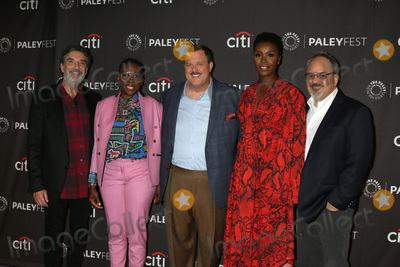 Chuck Lorre Photo - LOS ANGELES - SEP 12  Chuck Lorre Gina Yashere Billy Gardell Folake Olowofoyeku Al Higgins at the 2019 PaleyFest Fall TV Previews - CBS at the Paley Center for Media on September 12 2019 in Beverly Hills CA
