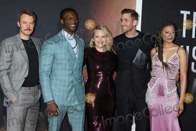 Aldis Hodges Photo - LOS ANGELES - FEB 24  Michael Dorman Aldis Hodge Elisabeth Moss Oliver Jackson-Cohen and Storm Reid at the The Invisible Man Premiere at the TCL Chinese Theater IMAX on February 24 2020 in Los Angeles CA