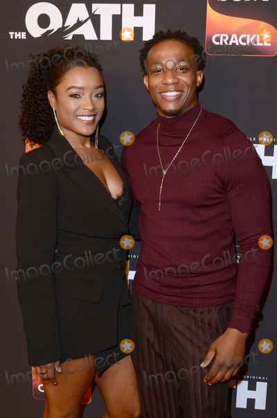 Arlen Escarpeta Photo - LOS ANGELES - FEB 20  Latoya Tonodeo Arlen Escarpeta at The Oath Season 2 Screening Event  at the Paloma on February 20 2019 in Hollywood CA
