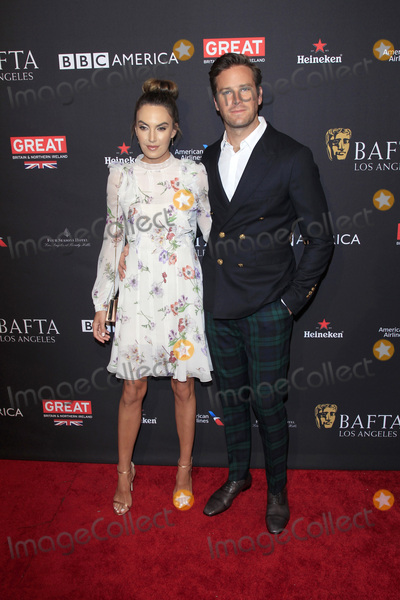 Armie Hammer Photo - LOS ANGELES - JAN 6  Elizabeth Chambers Armie Hammer at the 2018 BAFTA Tea Party Arrivals at the Four Seasons Hotel Los Angeles on January 6 2018 in Beverly Hills CA