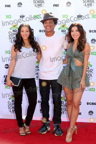 Ashley Campuzano Photo - LOS ANGELES - SEP 8  Danielle Vega Casey Motley Ashley Campuzano at the EIF Presents XQ Super School Live at the Barker Hanger on September 8 2017 in Santa Monica CA