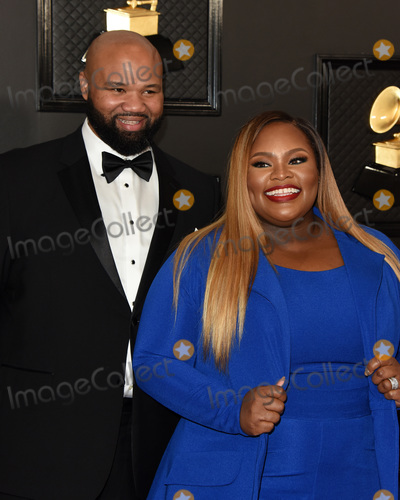 Tasha Cobbs Photo - LOS ANGELES - JAN 26  Kenneth Leonard Tasha Cobbs Leonard at the 2020 Grammy Awards - Arrivals at the Staples Center on January 26 2020 in Los Angeles CA