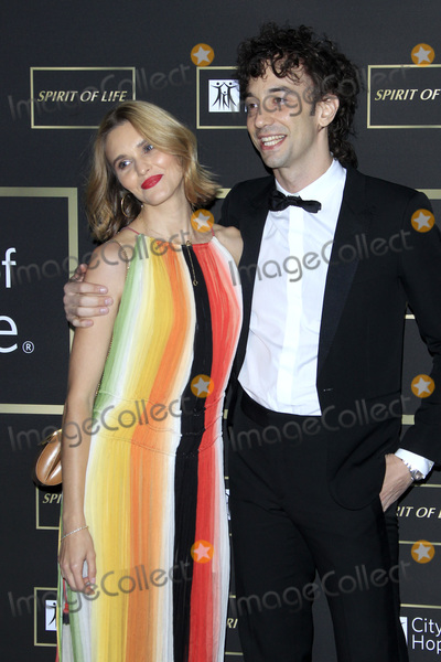 Albert Hammond Photo - LOS ANGELES - OCT 12  Justyna Sroka Albert Hammond Jr at the City of Hope Gala at the Barker Hanger on October 12 2018 in Santa Monica CA