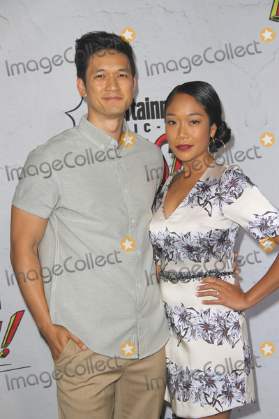Harry Shum Jr Photo - SAN DIEGO - July 22  Harry Shum Jr Shelby Rabara at the Entertainment Weeklys Annual Comic-Con Party 2017 at the Float at Hard Rock Hotel San Diego on July 22 2017 in San Diego CA