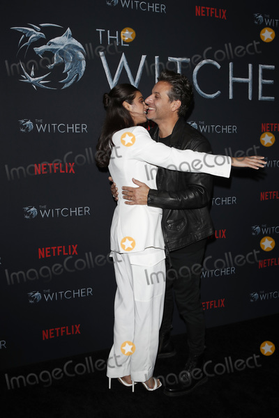 Adam Levy Photo - LOS ANGELES - DEC 3  Anya Chalotra Adam Levy at the The Witcher Premiere Screening at the Egyptian Theater on December 3 2019 in Los Angeles CA
