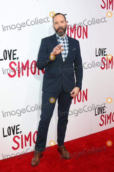 Tony Hale Photo - LOS ANGELES - MAR 13  Tony Hale at the Love Simon Special Screening at Westfield Century City Mall Atrium on March 13 2018 in Century City CA