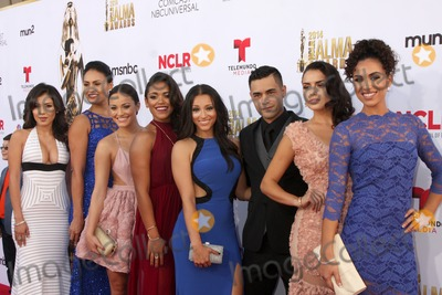 Ashley Campuzano Photo - LOS ANGELES - OCT 10  East Los High Cast Ashley Campuzano Alicia Sixtos Alexandra Rodriguez Vivian Lamolli Gabriel Chavarria Danielle Vega Vanessa Vasquez Andrea Sixtos at the ALMA Awards Arrivals 2014 at Civic Auditorium on October 10 2014 in Pasadena CA