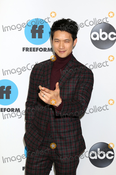 Harry Shum Jr Photo - LOS ANGELES - FEB 5  Harry Shum Jr at the Disney ABC Television Winter Press Tour Photo Call at the Langham Huntington Hotel on February 5 2019 in Pasadena CA