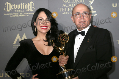 Alejandra Oraa Photo - LOS ANGELES - APR 30  Alejandra Oraa Eduardo Suarez Outstanding Entertainment Program in Spanish Destinos in the 44th Daytime Emmy Awards Press Room at the Pasadena Civic Auditorium on April 30 2017 in Pasadena CA