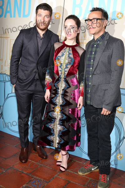 Adam Pally Photo - Adam Pally Zoe Lister-Jones Fred Armisen