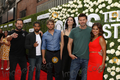 AJ Buckley Photo - LOS ANGELES - AUG 1  Aj Buckley Neil Brown Jr Max Thieriot Jessica Pare David Boreanaz Toni Trucks at the CBS TV Studios Summer Soiree TCA Party 2017 at the CBS Studio Center on August 1 2017 in Studio City CA