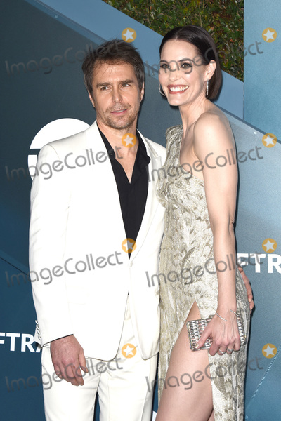 Sam Rockwell Photo - LOS ANGELES - JAN 19  Sam Rockwell Leslie Bibb at the 26th Screen Actors Guild Awards at the Shrine Auditorium on January 19 2020 in Los Angeles CA