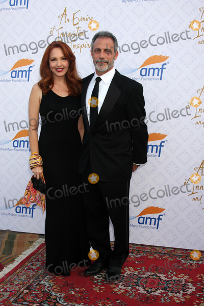 Alfred Mann Photo - LOS ANGELES - OCT 13  Amy Yasbeck Michael Plonsker at the 10th Alfred Mann Foundation Gala at Robinson-May Lot on October 13 2013 in Beverly Hills CA