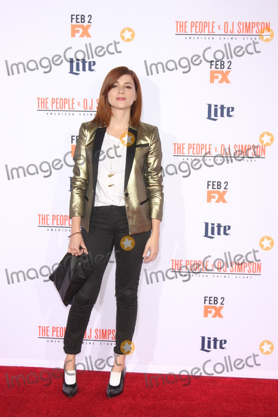 Aya Cash Photo - LOS ANGELES - JAN 27  Aya Cash at the American Crime Story - The People V OJ Simpson Premiere at the Village Theater on January 27 2016 in Westwood CA