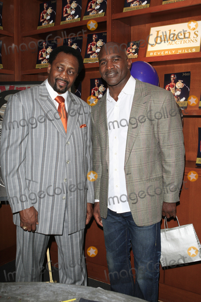 Tommy Hearns Photo - LOS ANGELES - OCT 19  Tommy Hearns Evander Holyfield attends  the 50th Birthday Party for Evander Holyfield  at Julians Auctions on October 19 2012 in Beverly Hills CA
