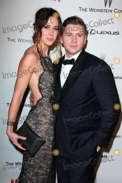 Allen Leech Photo - LOS ANGELES - JAN 11  Charlie Webster Allen Leech at the The Weinstein Company  Netflix Golden Globes After Party at a Beverly Hilton Adjacent on January 11 2015 in Beverly Hills CA