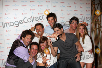 Kate Mansi Photo - LAS VEGAS - JUN 18  Back Row l-r  Shawn Christian Molly BUrnett Eric Martsolf Casey Deidrick Mark Hapka Kate Mansi Front Row l-r  Christian LeBlanc Bren Foster arriving at the Innovative Artists Pre-Emmy Party at Nikki Beach at the Tropicana Hotel on June 18 2010 in Las Vegas NV