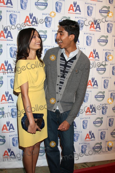 Dev Patel Photo - Freida Pinto  Dev Patel arriving  at the 15th Annual BAFTALAs Awards Season Tea Party at the Beverly Hills Hotel in Beverly Hills CA on January 10 2009