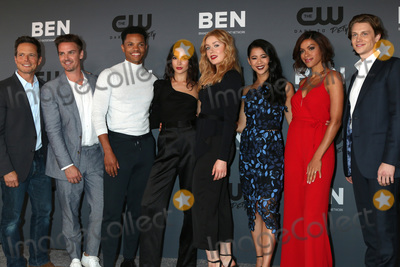 Alex Saxon Photo - LOS ANGELES - AUG 4  Scott Wolf Riley Smith Tunji Kasim Maddison Jaizani Kennedy McMann Leah Lewis Alvina August Alex Saxon at the CWs Summer TCA All-Star Party at the Beverly Hilton Hotel on August 4 2019 in Beverly Hills CA
