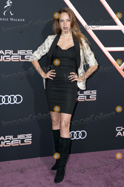 Alexis Knapp Photo - LOS ANGELES - NOV 11  Alexis Knapp at the Charlies Angels Premiere at the Village Theater on November 11 2019 in Westwood CA