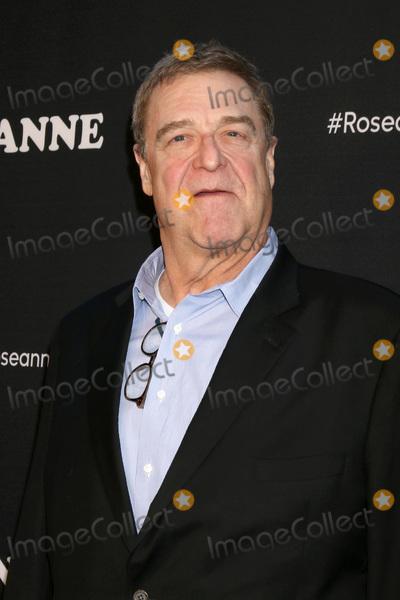 John Goodman Photo - LOS ANGELES - MAR 23  John Goodman at the Roseanne Premiere Event at Walt Disney Studios on March 23 2018 in Burbank CA