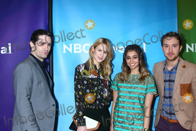 Meaghan Rath Photo - LOS ANGELES - JAN 7  Sam Witwer Meaghan Rath Kristen Hager Sam Huntington attends the NBCUniversal 2013 TCA Winter Press Tour at Langham Huntington Hotel on January 7 2013 in Pasadena CA