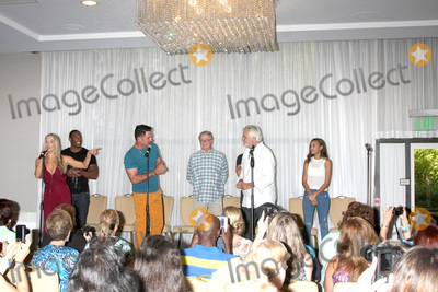 CHRISTIE BROOK Photo - LOS ANGELES - AUG 16  Saint-Victor Gareis Diamont Christie Brooks McCook Edwards at the Bold and Beautiful Fan Event Sunday at the Universal Sheraton Hotel on August 16 2015 in Universal City CA