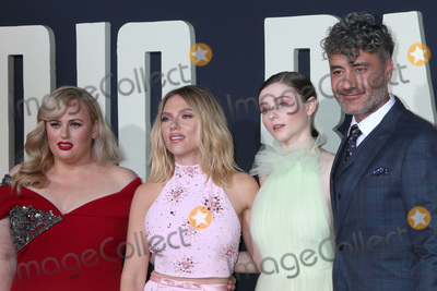 Rebel Wilson Photo - LOS ANGELES - OCT 15  Rebel Wilson Scarlett Johansson Thomasin McKenzie Taika Waititi at the Jojo Rabbit Premiere at the American Legion Post 43 on October 15 2019 in Los Angeles CA
