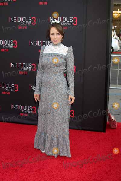 Olga Kay Photo - LOS ANGELES - JUN 4  Olga Kay at the Insidious Chapter 3 Premiere at the TCL Chinese Theater on June 4 2015 in Los Angeles CA