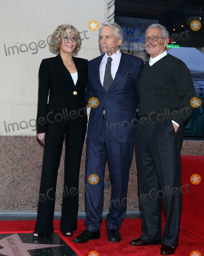 Ron Meyer Photo - LOS ANGELES - NOV 6  Jane Fonda Michael Douglas Ron Meyer at the Michael Douglas Star Ceremony on the Hollywood Walk of Fame on November 6 2018 in Los Angeles CA
