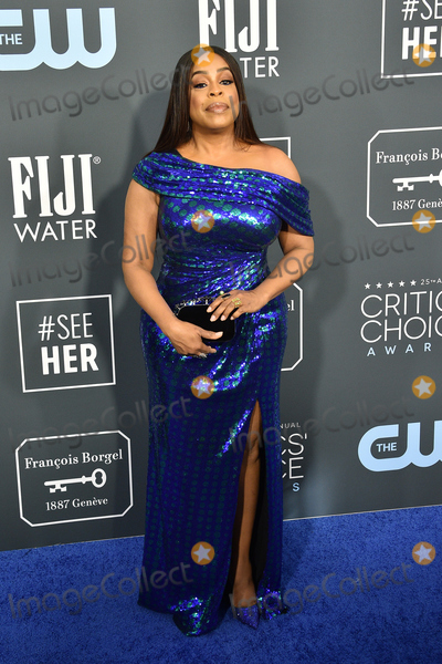 Niecy Nash Photo - LOS ANGELES - JAN 12  Niecy Nash at the Critics Choice Awards 2020 at the Barker Hanger on January 12 2020 in Santa Monica CA